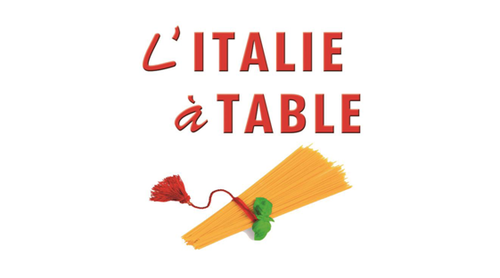 affiche l'italie à table