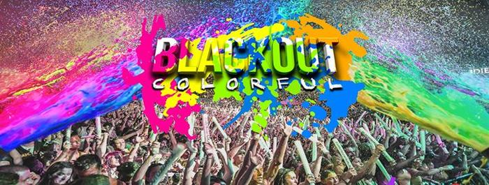 Affiche Blackout Colorful